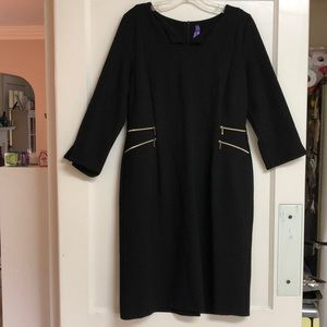 Seraphine maternity black dress size 8